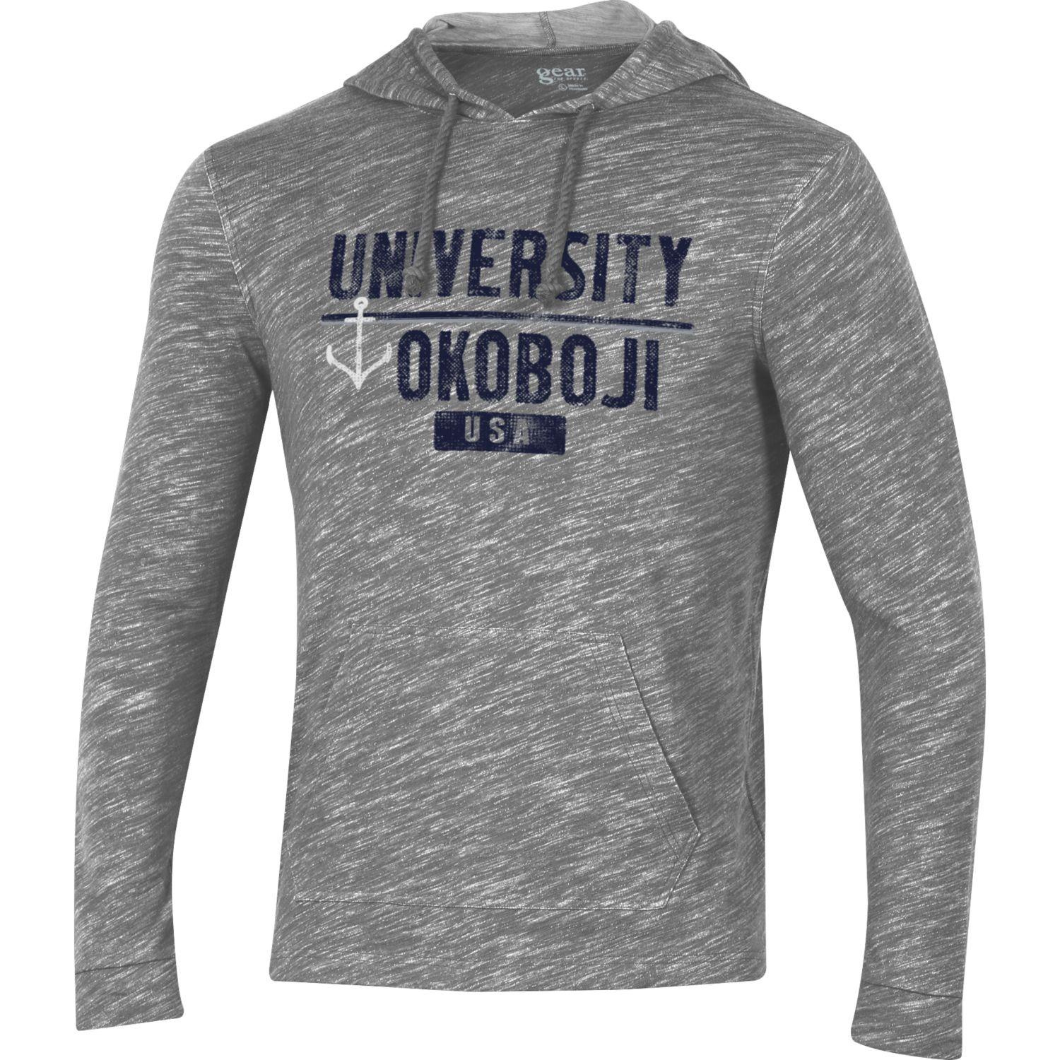 Okoboji USA Huntington Hood - Charcoal