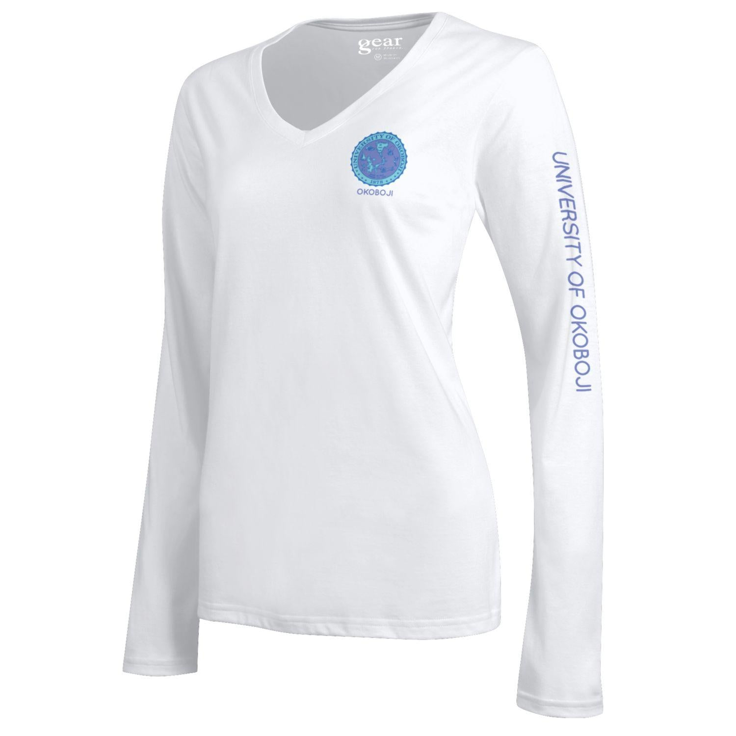 Women's Classic Long Sleeve-G7327 White 000