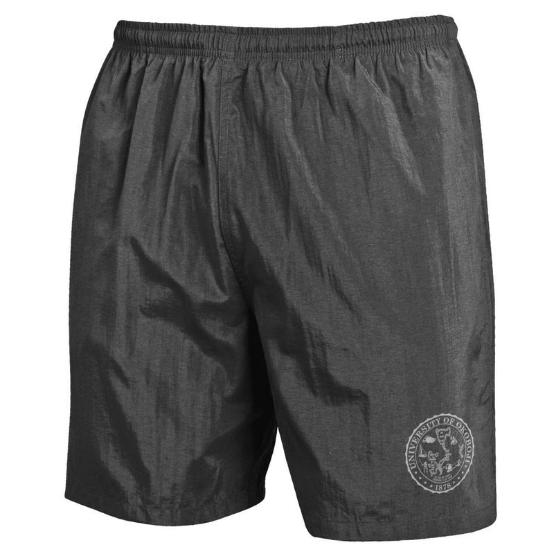 U of Okoboji Crest Trunks - Black