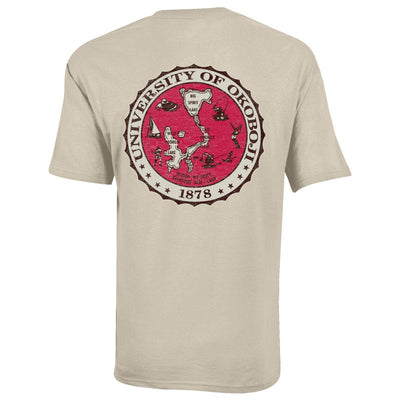 Okoboji KJ5 Trust Tee - Oatmeal Heather