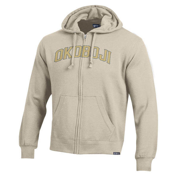 Big Cotton Full-Zip Hooded Okoboji Sweatshirt