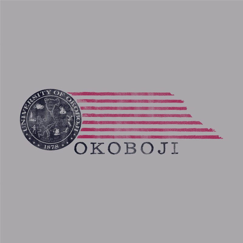 Okoboji Tomorrow Tee - Oxford Heather