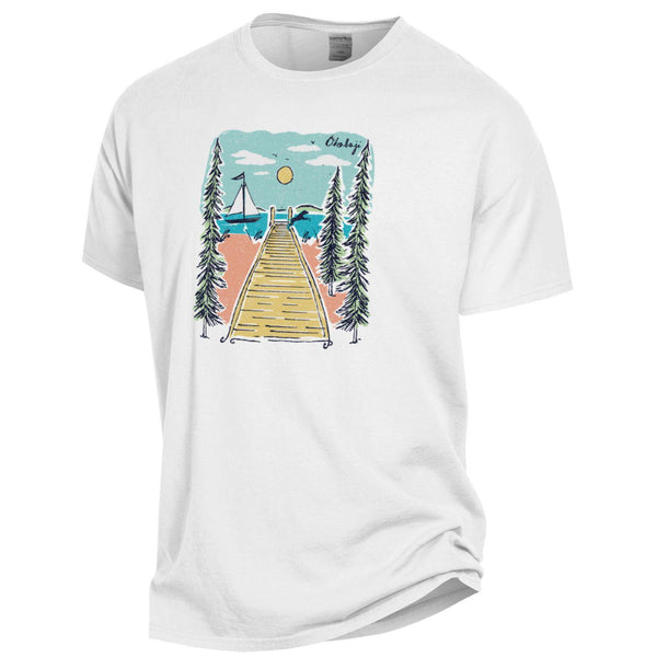 Dock Dayz Of Summer Short Sleeve Tee - White