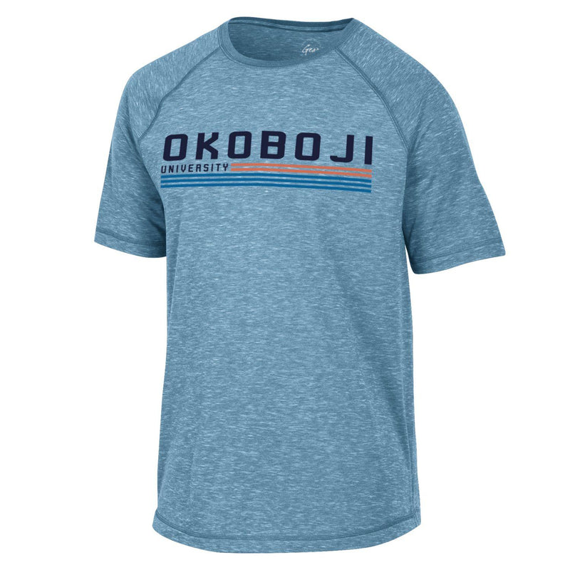 Okoboji University Fireside Tee - Mineral Blue