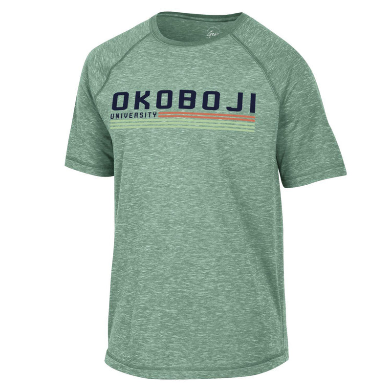 Okoboji University Fireside Tee - Nurture Green