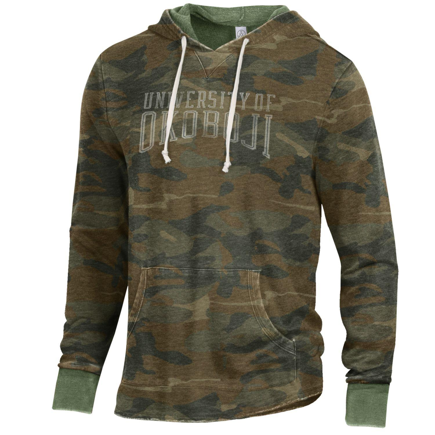 University of Okoboji School Yard Hoodie - CAMO