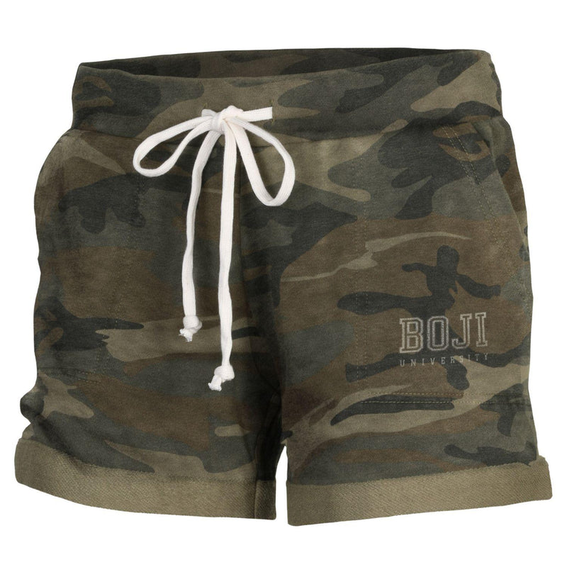 Ladies University of Okoboji Lounge Short - CAMO