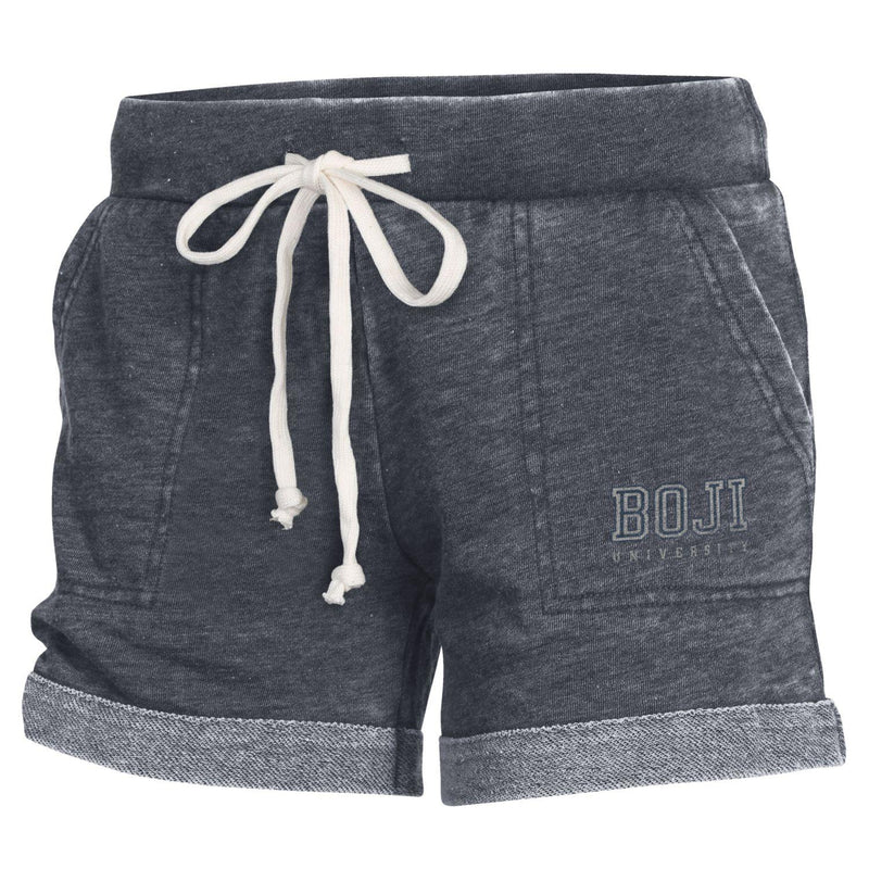 Ladies University of Okoboji Lounge Short - Dark Navy