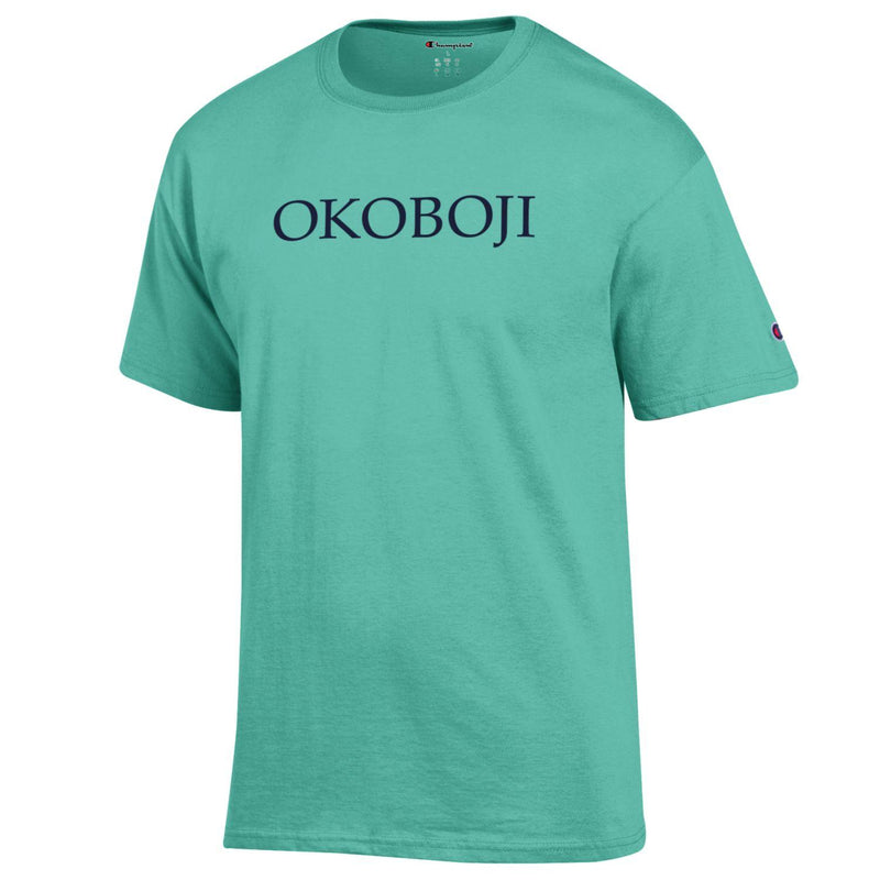 Champion Okoboji Campus Short Sleeve Tee - Light Sea Green