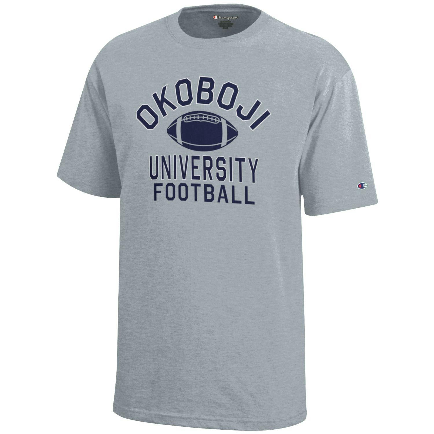 Kid's Okoboji University Football T-Shirt
