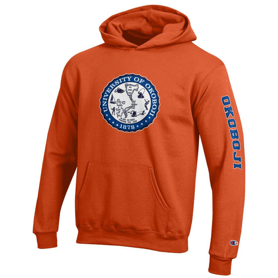 Youth U of O Hoodie - Orange