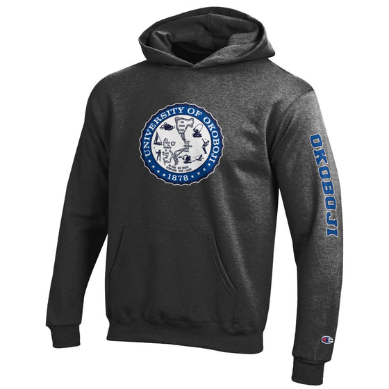 Youth U of O Hoodie - Charcoal