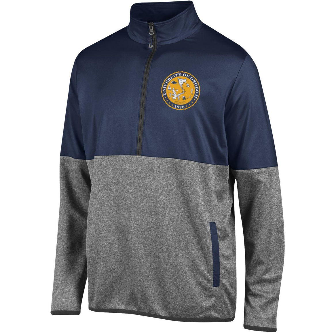 U of O Crest Convergence 1/4 Zip Fleece