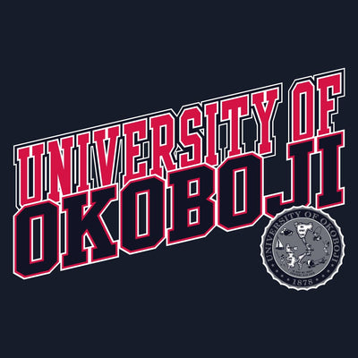 University of Okoboji Athletic Short Sleeve - Navy
