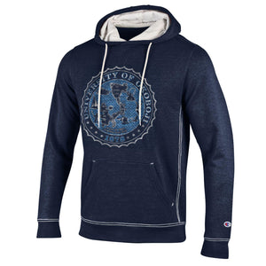 University of Okoboji Royal Crest Navy Hoody