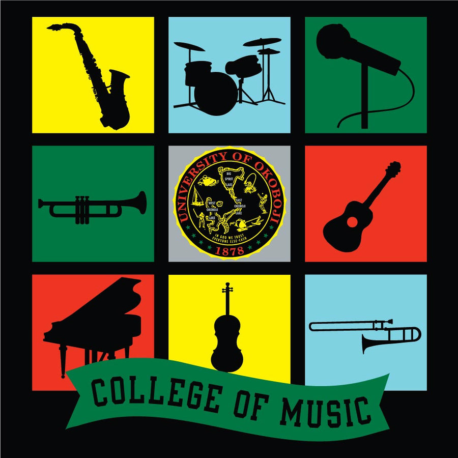 University of Okoboji College of Music - Black