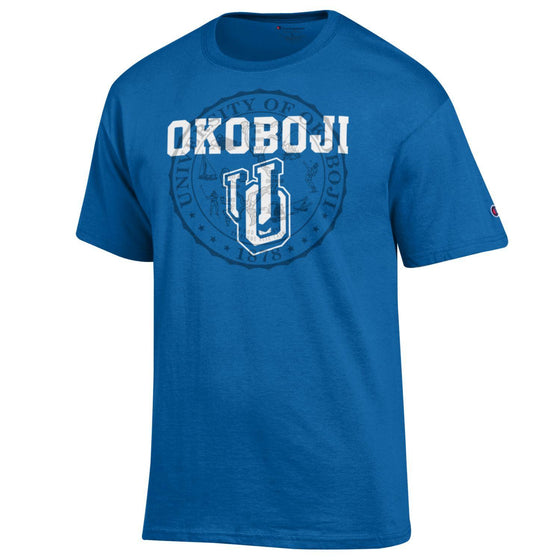 U O Tee - Royal Blue