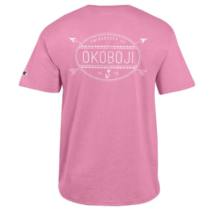 The Outdoors Club Tee - Pink