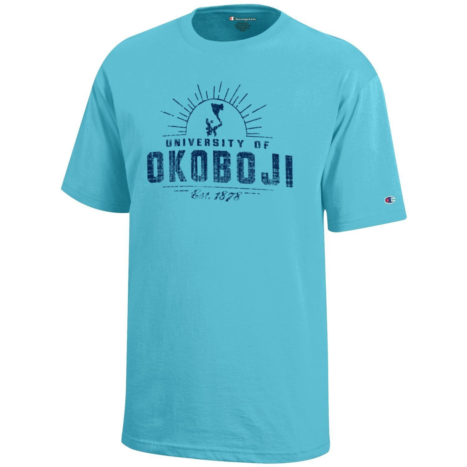 Kids University of Okoboji Campus Sun - Turquoise
