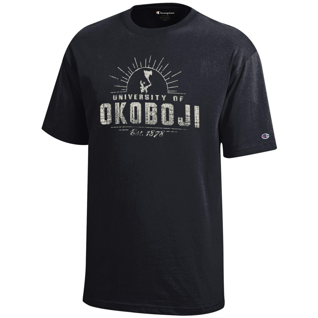 Kids University of Okoboji Campus Sun - Black