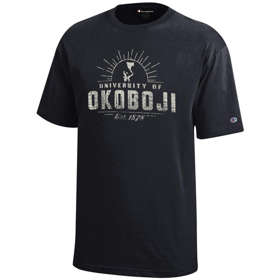 University of Okoboji Campus Sun - Black
