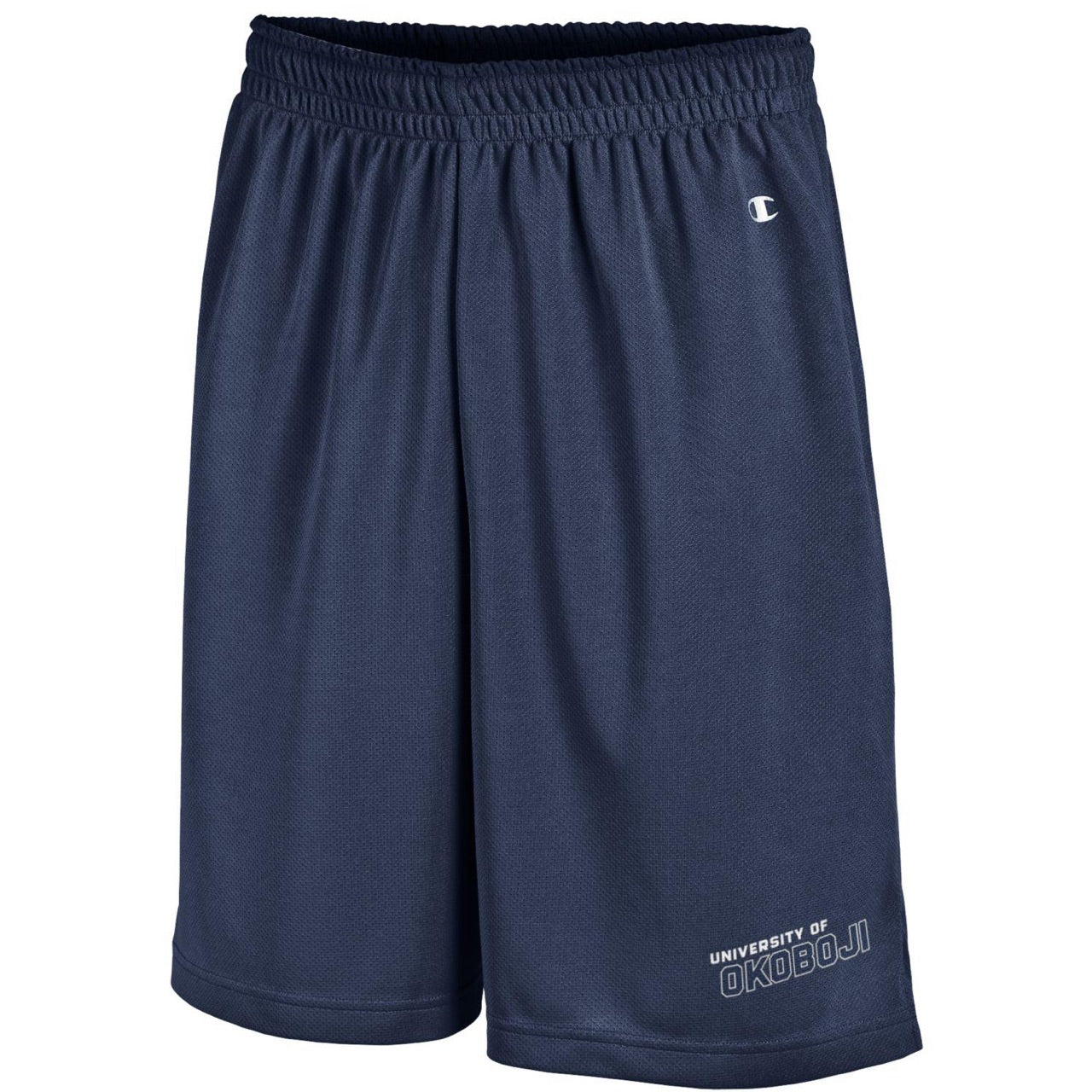 Champion Long Mesh Men's Shorts with Pockets - Navy