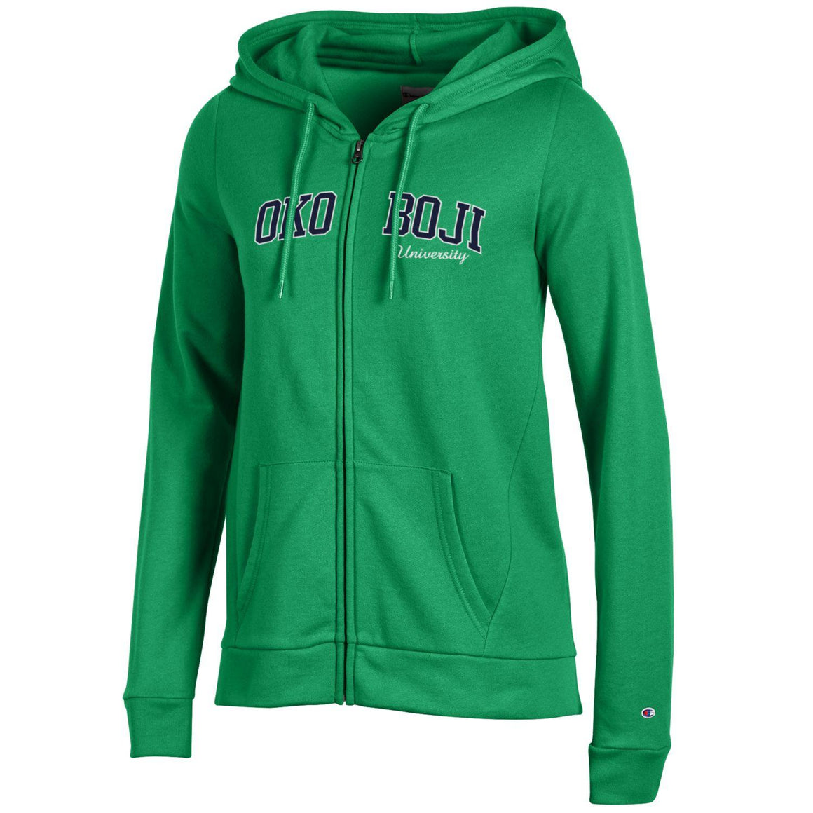 Green Champion Eco® Fleece Full-Zip Hoodie