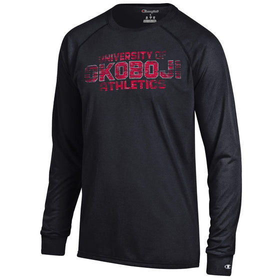U of O Athletics Long Sleeve Tee - Black