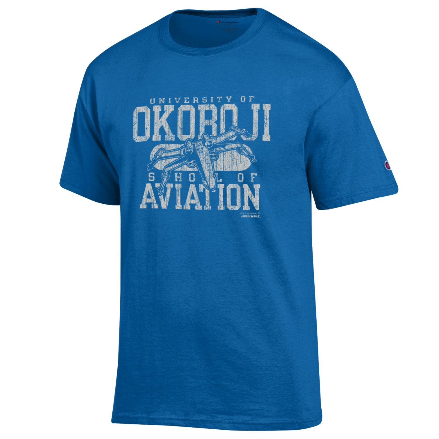 "University of Okoboji Star Wars™ ""School of Aviation"" X-Wing Starfighter Tee"