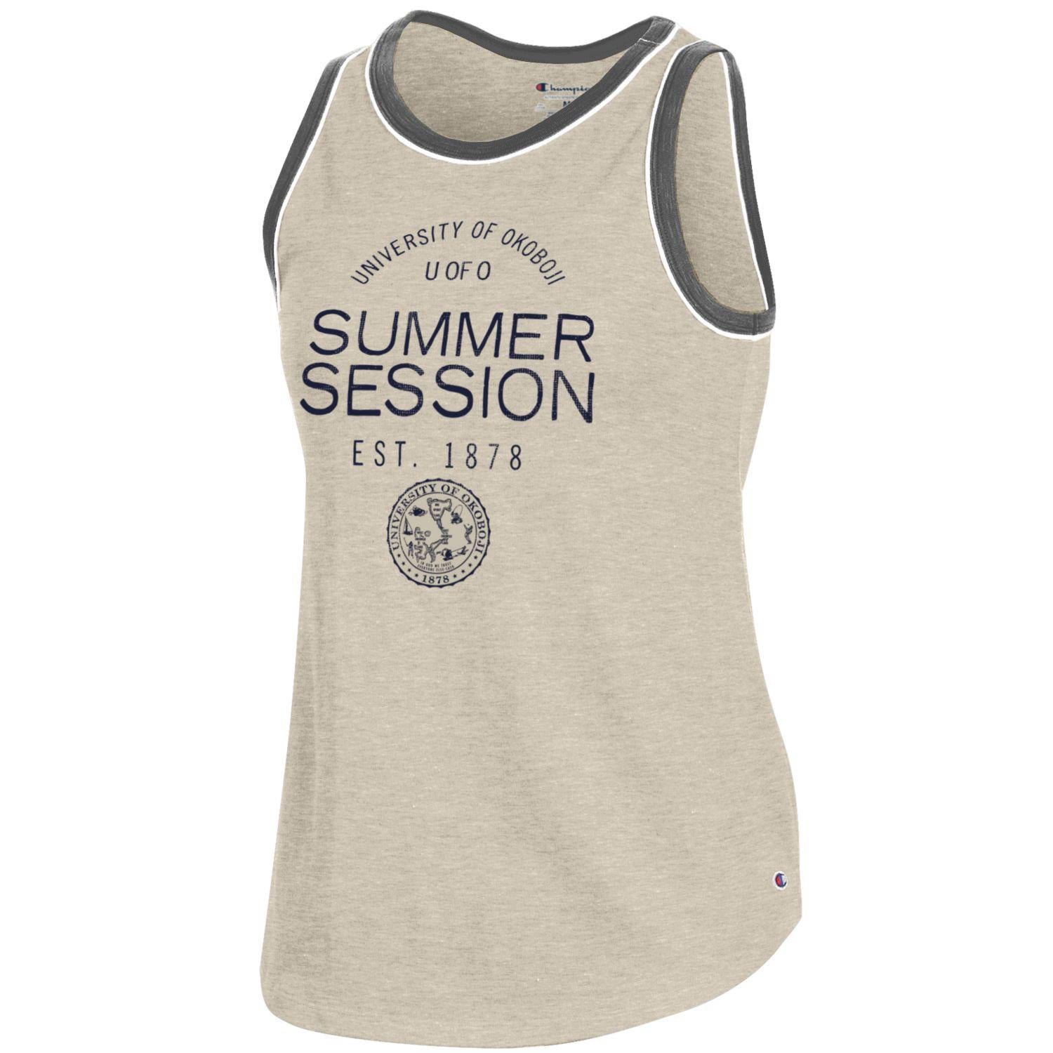 Women's U of O Rochester Tank - Oatmeal Heather