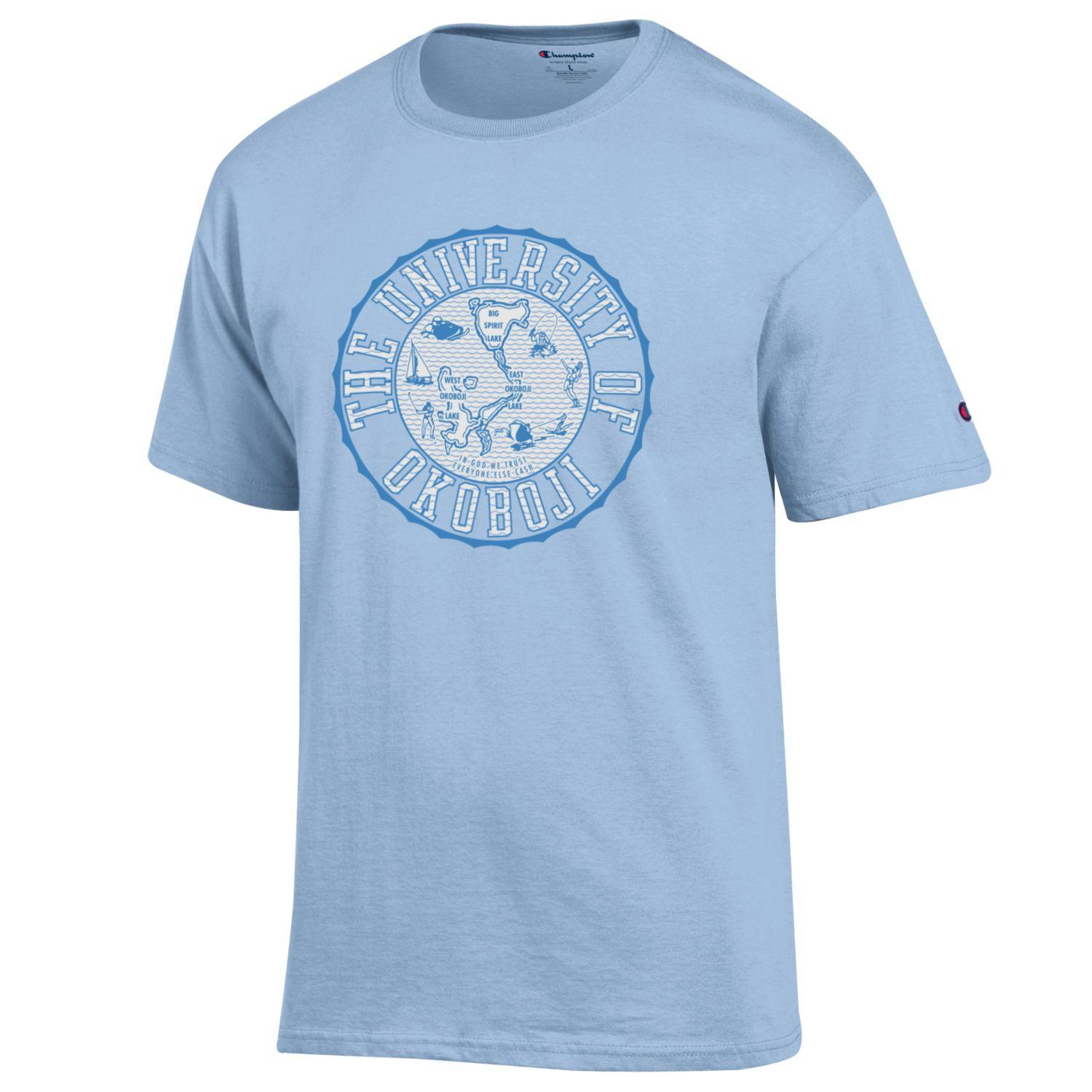 The University of Okoboji Tee - Oceanfront Blue