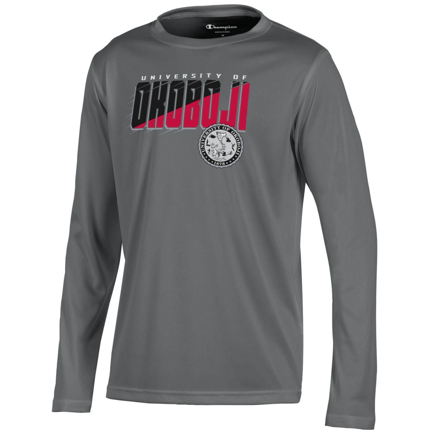 Youth Athletic Champion Long Sleeve Tee