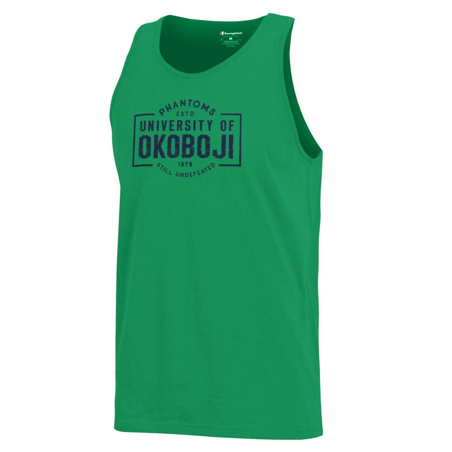 "Champion ""Still Undefeated"" Tank - Kelly Green"