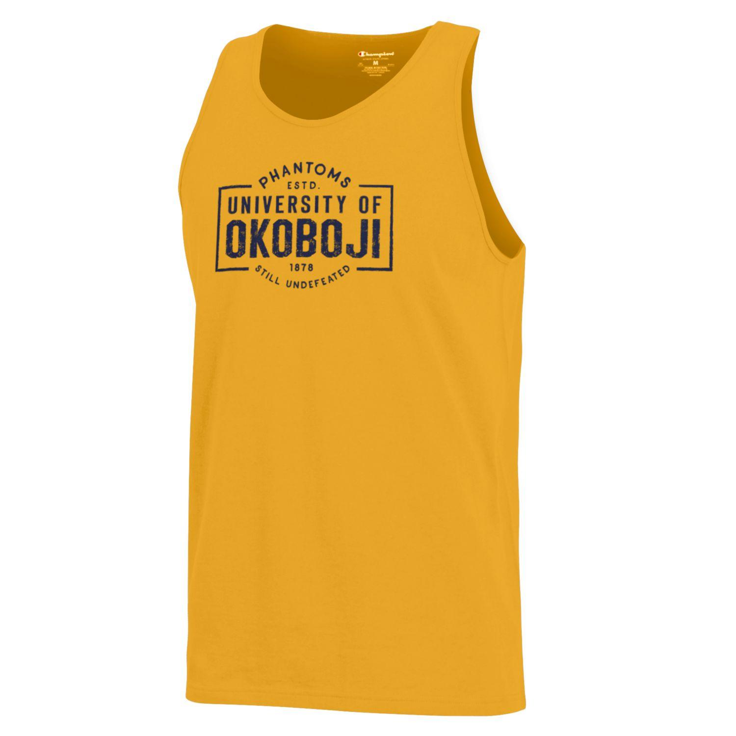 "Champion ""Still Undefeated"" Tank - Gold"