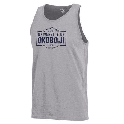 "Champion ""Still Undefeated"" Tank - Oxford Heather"