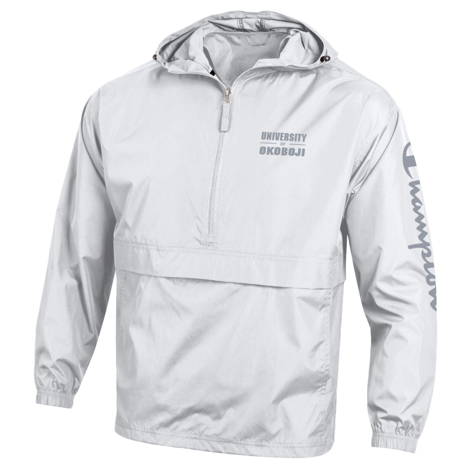 CHAMPION Pack N Go OKOBOJI Jacket - White