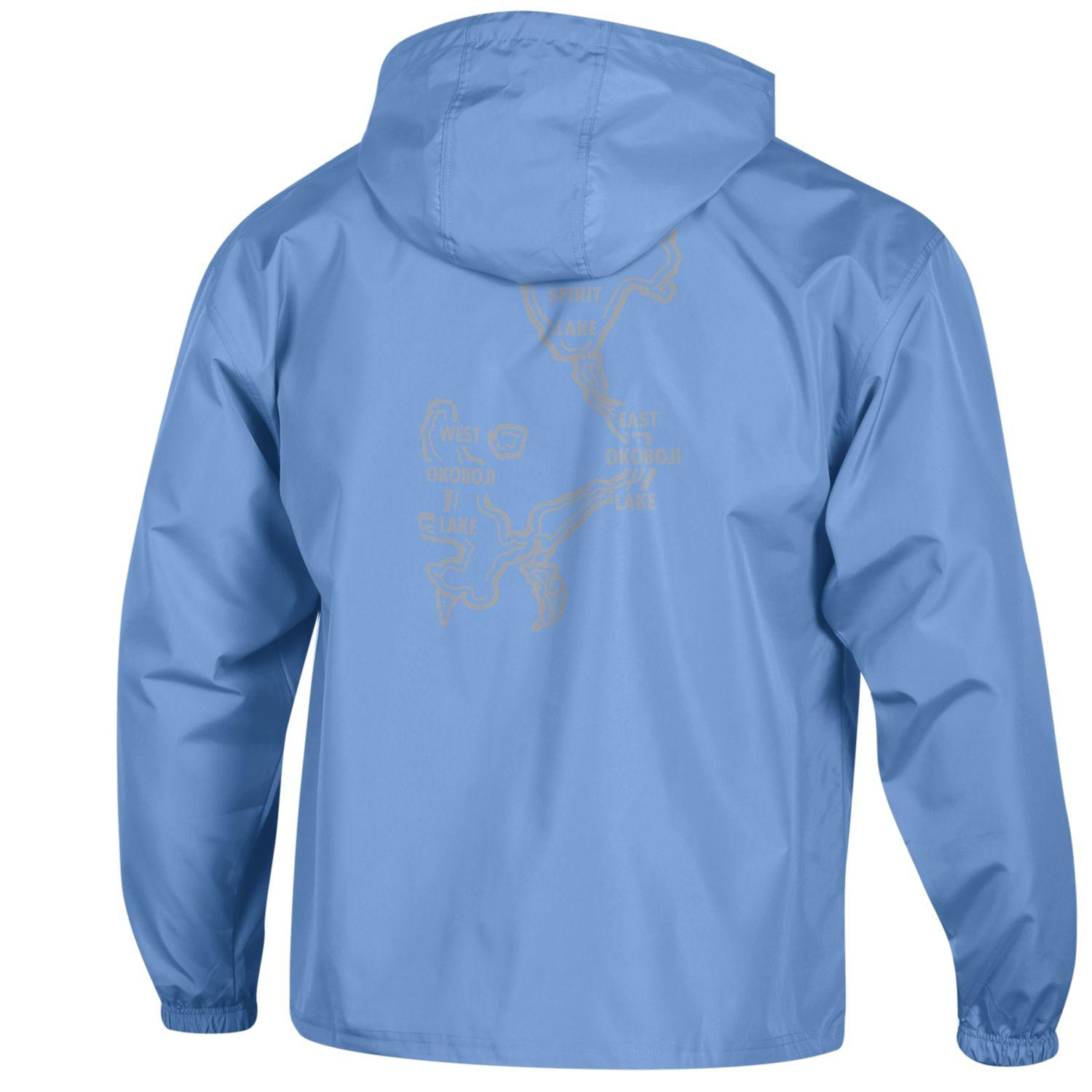 CHAMPION Pack N Go OKOBOJI Jacket - Light Blue