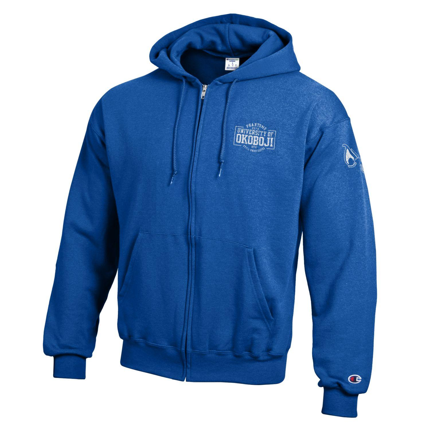 CHAMPION OKOBOJI ECO® POWERBLEND® FULL ZIP - Victory Blue