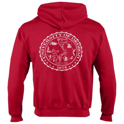 CHAMPION OKOBOJI ECO® POWERBLEND® FULL ZIP - Victory Red