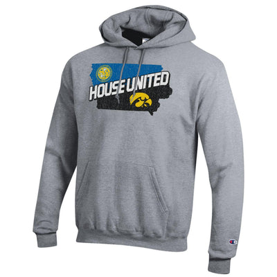 House United University of Okoboji / University of Iowa Champion Hood