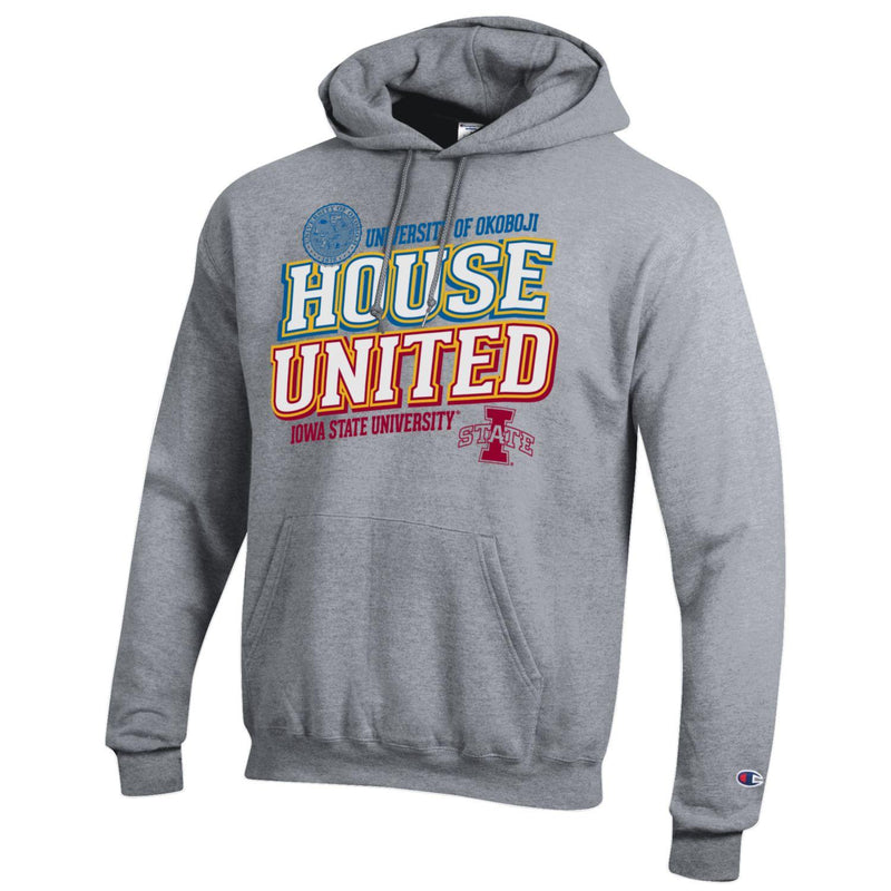 House United University of Okoboji / University of Iowa State Champion Hood