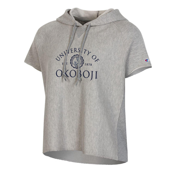 Women's Out East Cut-Off Hood - Oxford Heather