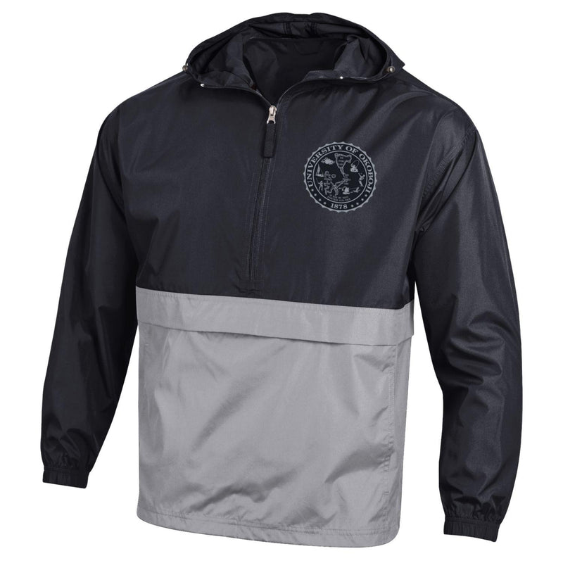 CHAMPION Pack N Go OKOBOJI Jacket - Black/Grey