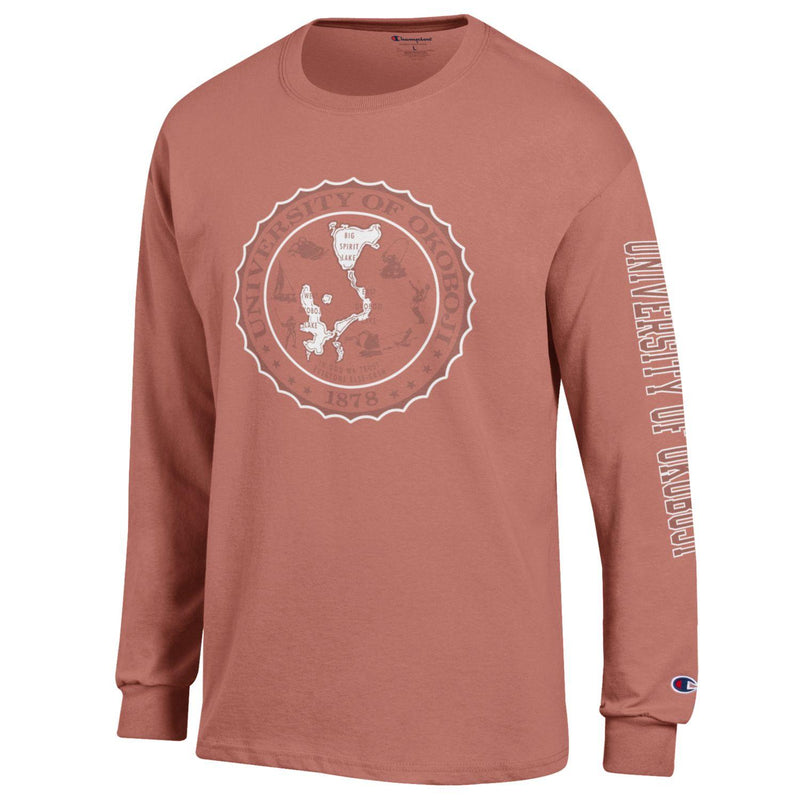 Champion SW Long Sleeve Tee - Timeless Coral