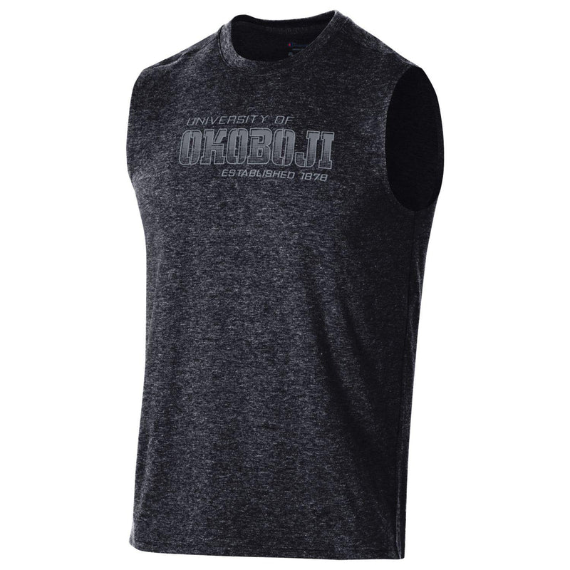 Okoboji Men's Field Day Muscle Tee - Black