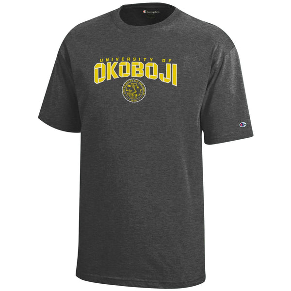 Okoboji Youth Tee - Granite Heather
