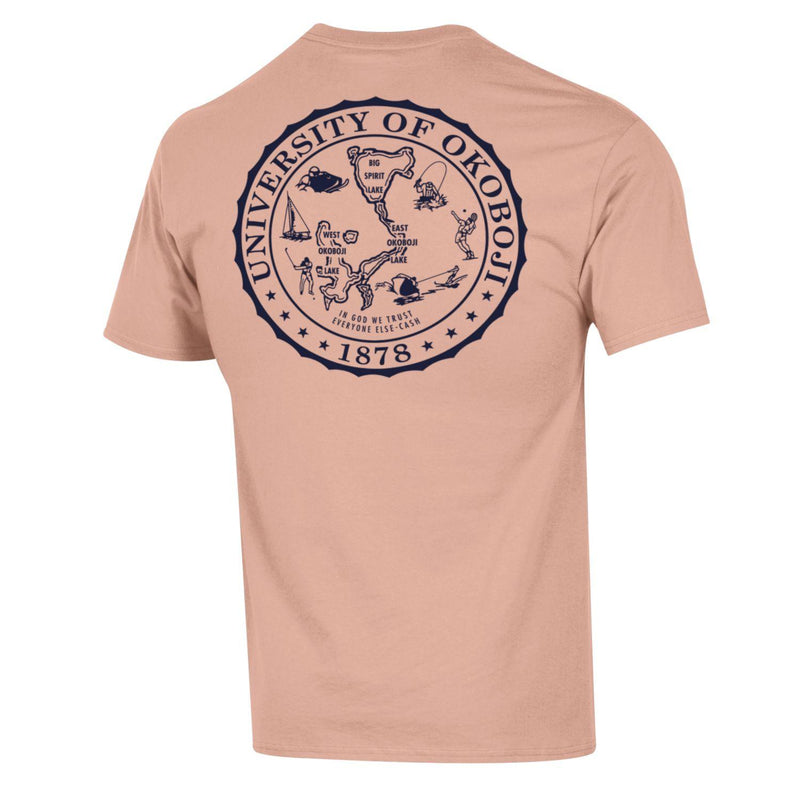 Champion Okoboji Campus Short Sleeve Tee - Blushing Peach