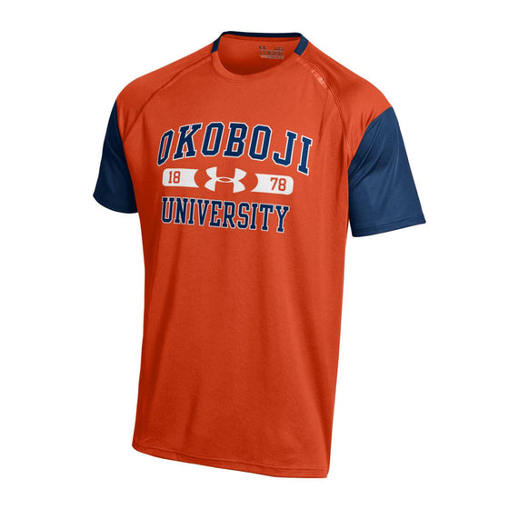 University of Okoboji Under Armour 'Orange & Navy' Youth Performance T