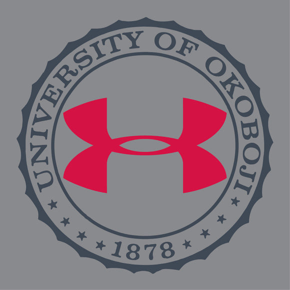 Youth University of Okoboji Crest Limitless Tee - Red