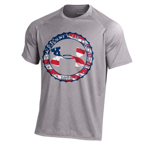 University of Okoboji USA!! Under Armour Tee